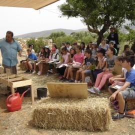 """""""Ο κήπος της Λουκίας"""" εκπαιδευτική εκδρομή της Δ' τάξης"""
